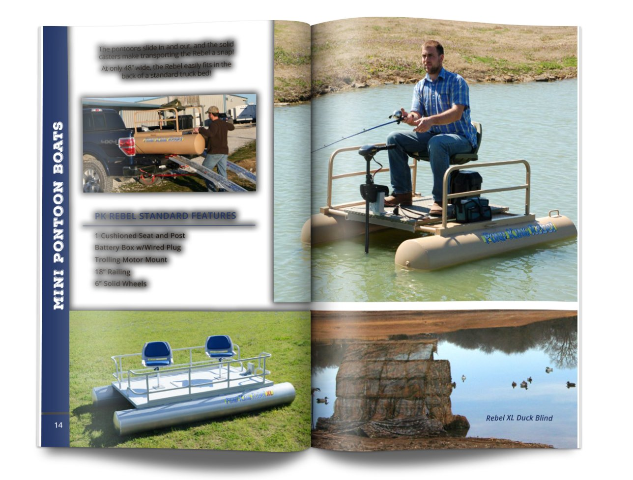Pond King Catalog