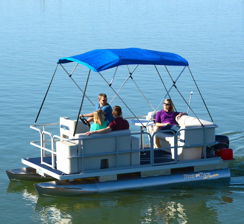 Small Party Pontoon Boat